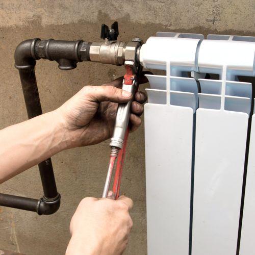 Монтаж алюминиевых радиаторов отопления своими руками фото