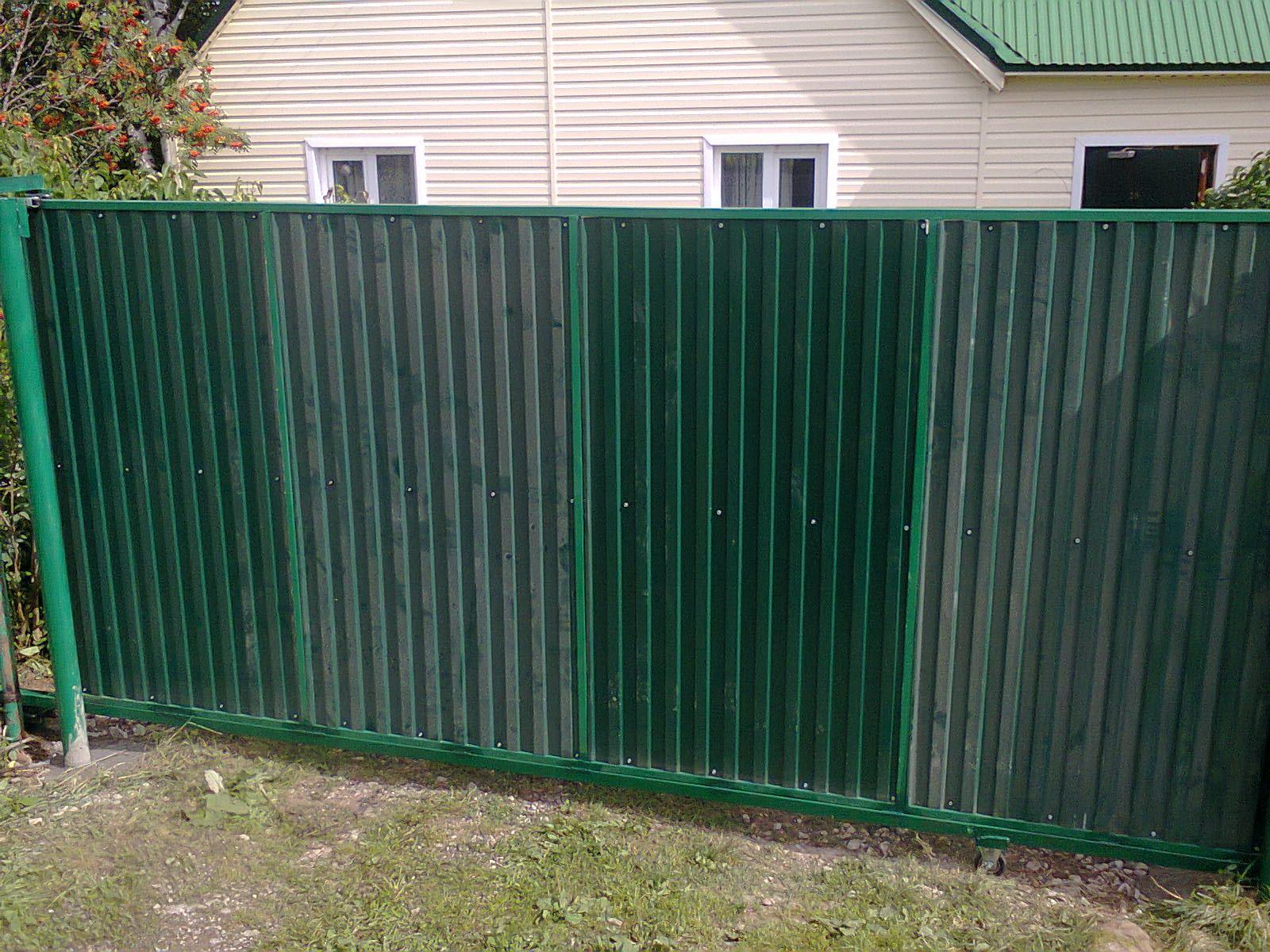 Распашные ворота цена в перми дизаин ворот и калиток